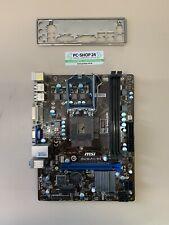 Mainboard Motherboard MSI H61M-P31/W8 So. 1155 Intel inkl. Blende