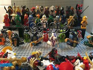 LEGO Ningajo Minifigures Lot - You Pick - Kai, Jay, Zane, Master Wu, Cole, Lloyd