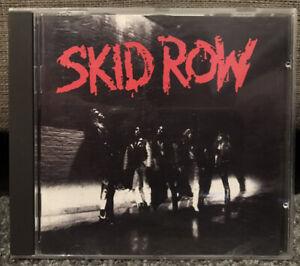 SKID ROW Self Titled CD 781936-2 GERMANY *Disc Near Mint* FAST FREE POST
