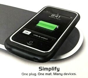 Powermat Wireless Charging Receiver / Cover for iPod Touch 2nd Generation