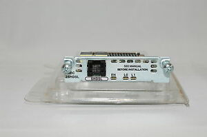 Cisco HWIC-2SHDSL WAN Interface Cards * TESTATO *