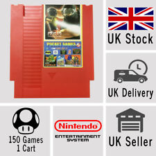 Nintendo NES Bundle Cartridge 150 in 1 Cart Contra Donkey Kong Mario Rockman