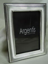 1 Very Small Stylish Italian GBG Argenti Silver Plate Picture Frame Hallmarked