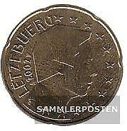Luxemburg LUX 5 2002 Stgl./unzirkuliert 2002 Kursmünze 20 Cent