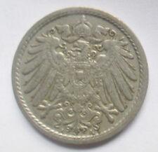 GERMANY 5 PFENNIG COIN 1912 DEUTSCHES REICH COIN