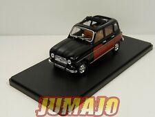 4L18F Voiture hachettes 1/43 IXO Renault R 4 L : 4 Parisienne 1965 toit amovible