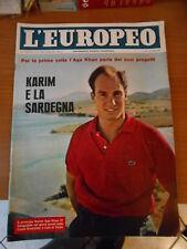 L'EUROPEO n.34-1962-MARILYN MONROE-A.GARDNER-JAIR INTER-GERMANO MILAN-J.LEMMON