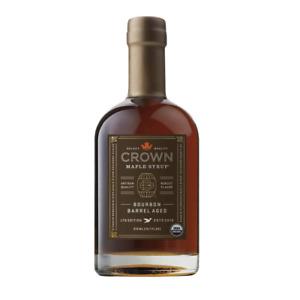 Crown Maple Bourbon Barrel Aged Organic Maple Syrup