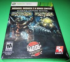BioShock -- Ultimate Rapture Edition Xbox 360 *Compatible w/ Xbox One! *Sealed!