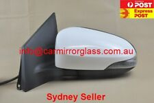 NEW DOOR MIRROR FOR TOYOTA COROLLA ZRE182 2012-2018 (HATCH, LEFT, WHITE,9 PIN)