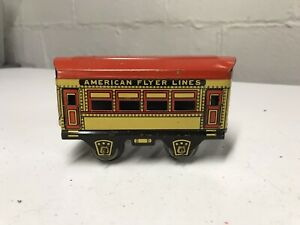 VINTAGE AMERICAN FLYER LINES  TIN  # 515 RAILROAD CAR. O Scale