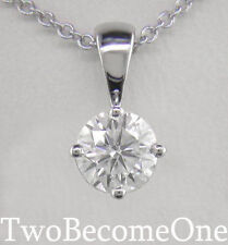 White Gold VS2 Love Fine Diamond Necklaces & Pendants