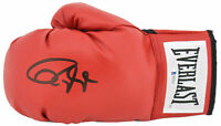 Roy Jones Jr. Signed Red Everlast Boxing Glove w/ Black Signature BAS Witnessed