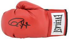 Roy Jones Jr. Signed Red Everlast Boxing Glove w/ Black Signature BAS Witnessed