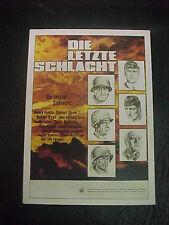 BATTLE OF THE BULGE, film card (Henry Fonda, Robert Shaw, Charles Bronson)