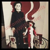 SALE! MICHAEL MYERS & JAMIE LLOYD CUSTOM HORROR DOLLS OOAK HALLOWEEN Figures