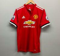 Manchester United Red 2016 Home Jersey Chevrolet Romelu Lukaku Soccer adidas
