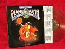 Paul Kantner Planet Earth Rock and Roll Orchestra 1983 RCA CLEAR VINYL NM