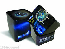 Doctor Who Time Vortex TARDIS Watch Quartz 38 mm Dr BBC Official New MIB Mint