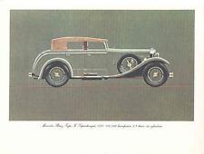 1927 Mercedes Benz Type K 100/160 Frameable Print wp6212-TUG2ER
