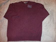 NWT Polo Ralph Lauren Mens 100% Italian Cashmere Cableknit Crewneck Sweater XL