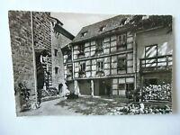 Ansichtskarte Burg Liebenzell Schwarzwald 50/60er?? Burghof Blick Knappenhaus