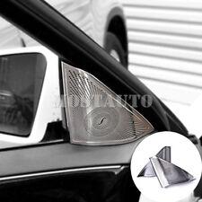 For Benz E Class W212 Inner Car Door Audio Speaker Cover Trim 2pcs  2009-2015