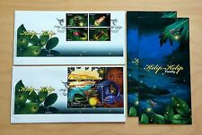 2010 Malaysia Insects Kelip-Kelip Firefly, 4v Stamps & MS on 2 FDC