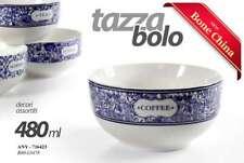 TAZZA COLAZIONE BOLO IN PORCELLANA 480 ML DECORI ASSORTI COFFEE/TEA ANY-716423