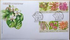 Malaysia FDC with Stamps (21.02.2017) - Orchids