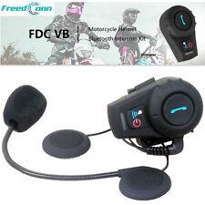 BT Intercomunicador 500M Interphone Bluetooth Intercom Casco Moto Interfono FM