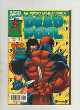 Deadpool #8 - Love Hurts Blood Spurts - (Grade 8.0) 1997
