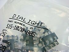 (25) DIALIGHT 515-1020-805 3 ELEMENT LED OPTICAL LIGHT PIPE RIGHT ANGLE SHIELDED