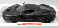 Burago Signature 1/18 Scale Diecast - 18-16901 Ferrari LaFerrari Supercar Black