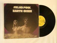 FRIJID PINK EARTH OMEN Vinyl LP 1972 Lion LN-1004 VG+ Psych Rock MR BLOOD RULES
