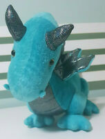 Blue Dino Dragon Plush Toy Target 26cm Tall 47cm Long!