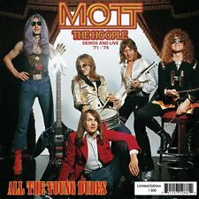 All the Young Dudes  by Mott The Hoople (180g Red Vinyl LP)2009,