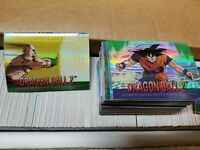 2000 Dragon ball Z Chrome card 3 set Value Package Collect Dragonball Z Chrome