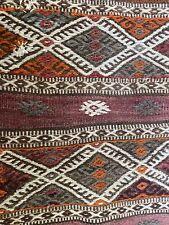 Authentic Nomadic Vintage Hand Woven Turkish Camel Bag Kilim