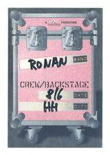 Ronan Keating - Konzert-Satin-Pass Crew/Backstage - Schönes Sammlerstück