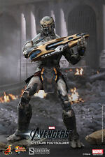 "Hot Toys CHITAURI Footsoldier Avengers 12"" Sixth Scale Figure MMS 226 NEW"