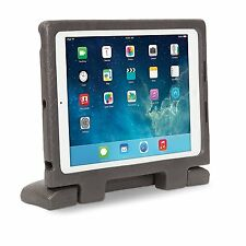 NEW iPad Air SafeGrip Rugged Carry Case/Stand - Charcoal by Kensington