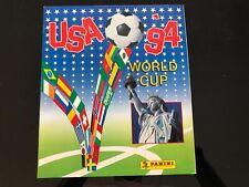 ★★ ALBUM PANINI USA 1994★★  USA 94 WORLD CUP 100%  COMPLETO MINT VERSION 444 STI