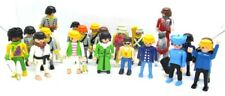 Playmobil 23 lot of Figures Civil War Soldiers Horses Police Chinese Man & More