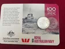 2015 WW1 Royal Australia TWENTY CENT COIN - 100 YEARS OF ANZAC - ISSUED BY RAM