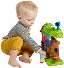 Fisher Price Little People Swing & Share Treehouse Taking Turns Facial Features