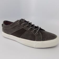 Ben Sherman Jayme Canvas Lace Up Black Men Shoes Size 10 M EU 43 AL5088