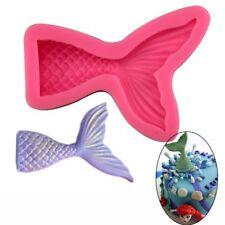Fondant Meerjungfrau Silikonform 3D Kuchenform Backwerkzeug Kuchen Dekor