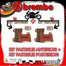 BRPADS-24871 KIT PASTIGLIE FRENO BREMBO KTM SX 2011- 85CC [SD+SD] ANT + POST