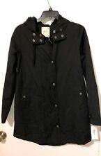 Women Coats Style & Co Deep Black Mixed Cotton Jacket Regular Size S NWT $79.50